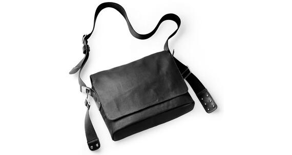 Brooks Paddington Shoulder Bag Canvas total black